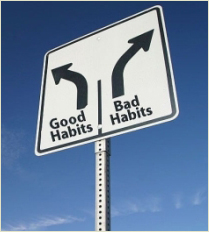 How to Change Bad Habits
